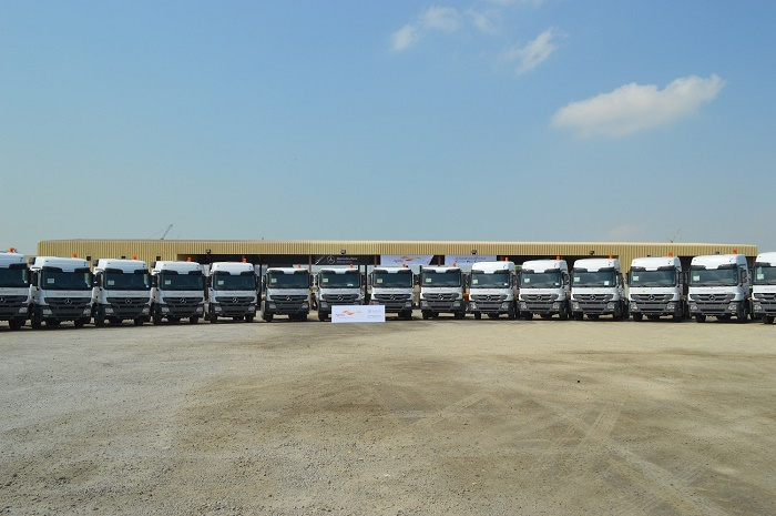 Agility, a leading global logistics provider, has expanded its Abu Dhabi vehicle fleet with 30 new Mercedes-Benz Actros Benz trucks.