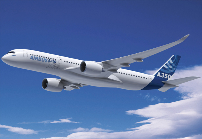 Gulf carriers are launch customers for the A350.