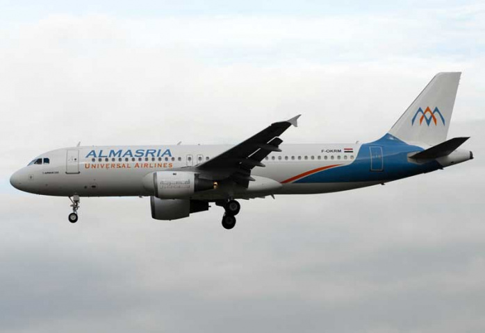 AlMasria is expecting another three A320s over the next 12 months.