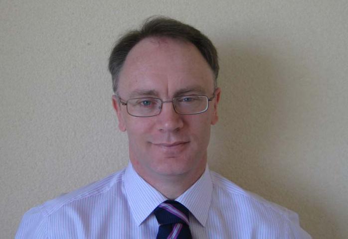 Alba Logistics managing director Patrick Daly.