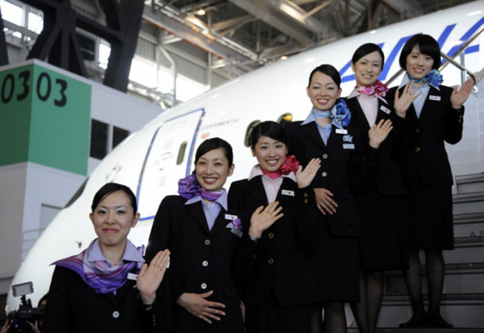 PHOTOS: All Nippon Airways welcomes Boeing 787