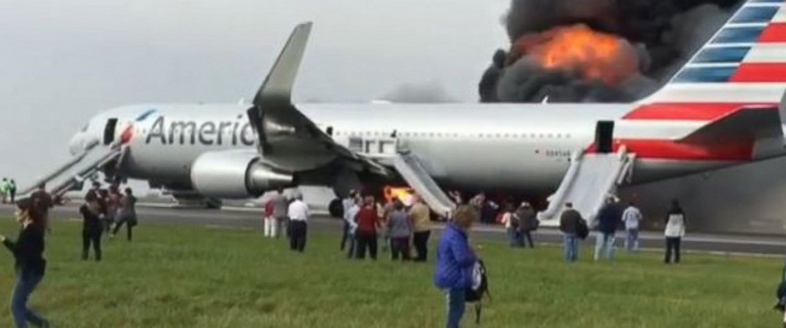 "The aircraft reportedly suffered an ""uncontained engine failure""."
