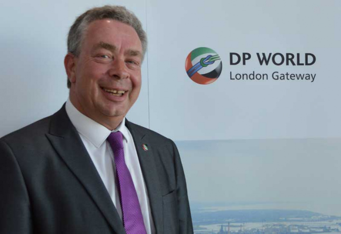 Andy Browning, who has joined the DP World London Gateway team as cargo supply chain manager.