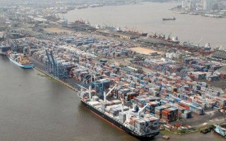 Apapa Port, Lagos, Nigeria.