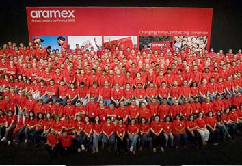 The Aramex team