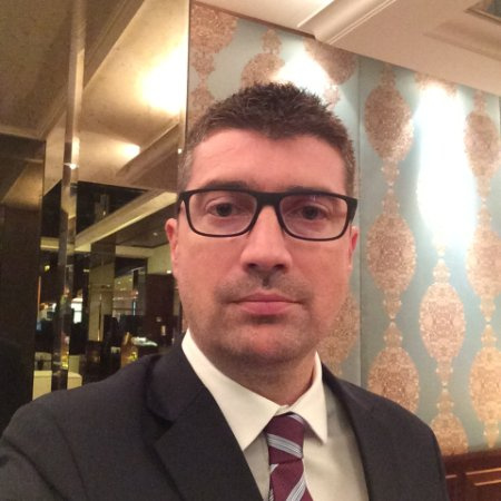 Luc Chantepy, regional sales vice president for the Middle East and North Africa region.