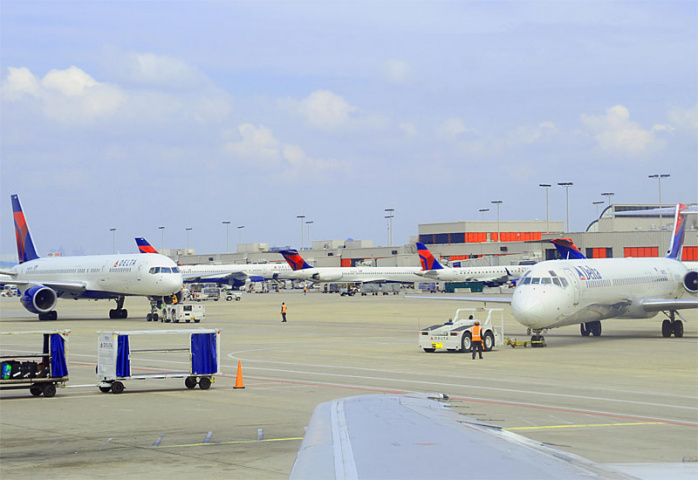A clue to which airport handled the most passengers last year (Karen Bleier/AFP/Getty Images).