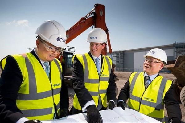 BCEGI will build a US $15-million logistics centre