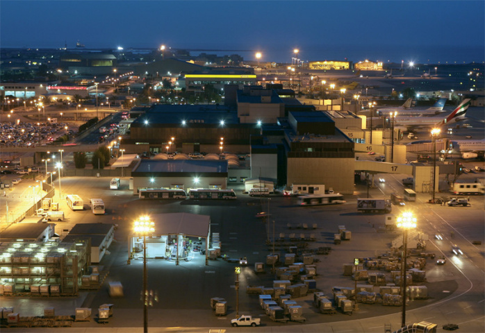 Expansion works are underway at Bahrain International Airport.
