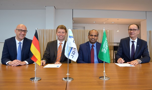 The contract laying the framework for the partnership, was signed in Hamburg, Germany, in the presence of Anwar Siddiqui, president of Bahri Data, Per Helge Pedersen, president of Bahri Ship Management, Albrecht Grell, executive vice president of Digital Solutions and Innovation at DNV GL  Maritime, and Geir Fuglerud, area manager Middle East at DNV GL  Maritime.