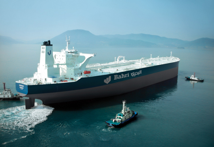 Bahri has exercised its options for five additional VLCC newbuilds with South Korea's Hyundai Samho Heavy Industries.