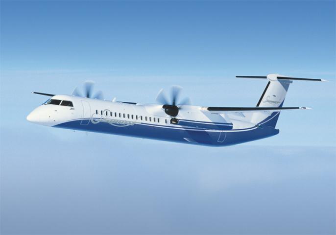 Bombardier's Q400 NextGen serves the 70-80 seat market.