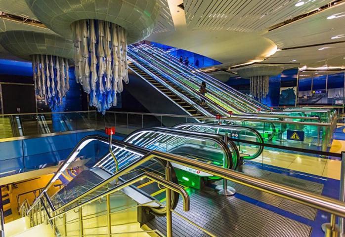 Bur Juman station in Dubai.
