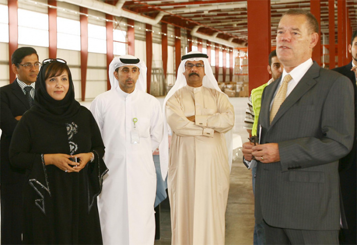 CEVA unveils its LEED-rated green warehouse in Jebel Ali.