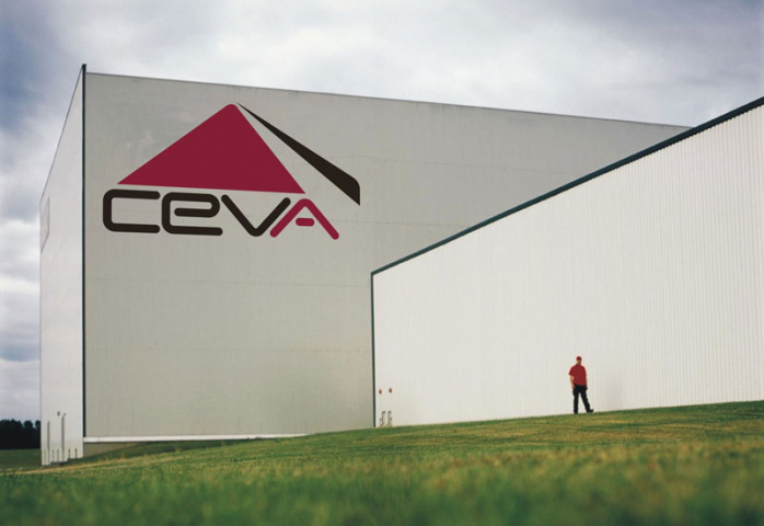 One of CEVA Logistics' high-bay warehouses.