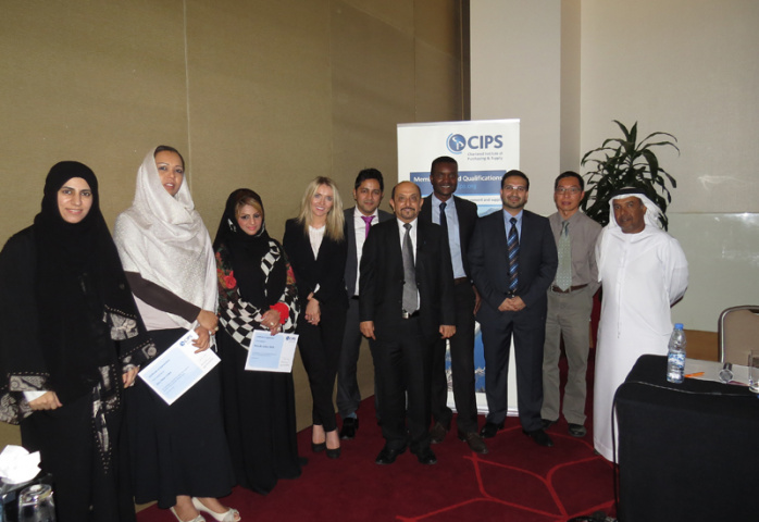 CIPS MENA event about women in procuurement took place at Crowne Plaza, Yas Island, Abu Dhabi in October.