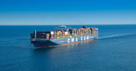 The weekly INDIAMED service provides the fastest transit times between India and CMA-CGM hub ports in the Mediterranean and Arabian Gulf