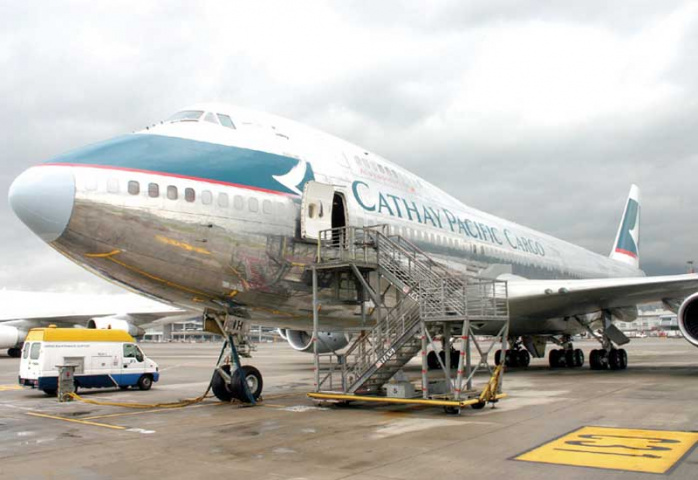 The Middle East and India are the only regions where Cathay Pacific has elected not to cut freighter schedules.