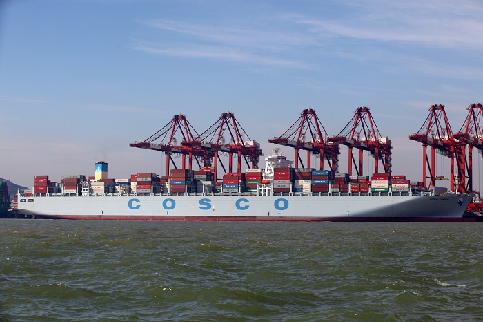 The new company would control 11.6% of global container capacity, although OOCL will continue to operate as an independent brand.