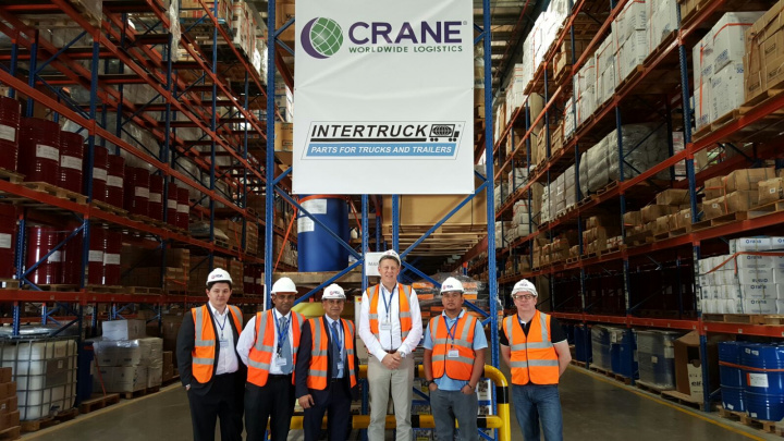 Crane Worldwide Logistics has been awarded a contract to manage over 35,000 individual line items of Heavy Duty spare parts for Intertruck in their state of the art facility in Dubai.