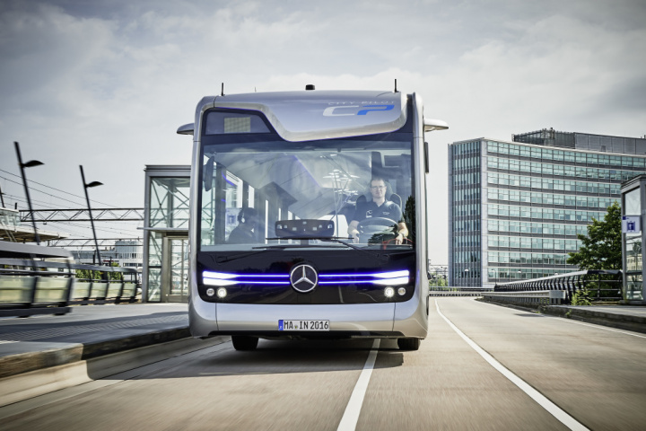 Daimler Buses' Mercedes-Benz Future Bus with CityPilot has driven autonomously for the first time.
