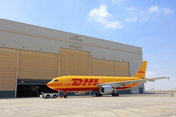 DHL Supply Chain will manage stores, local transport movements and associated supply chain planning at the Etihad Airways Engineering hub at Abu Dhabi International Airport.