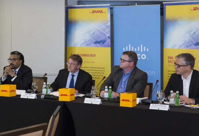 Dhl express, Internet of things, Technology, NEWS