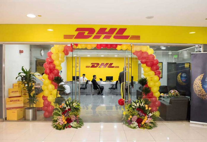 The DHL service point in City Centre can be found in the West Court, basement level of Carrefour.