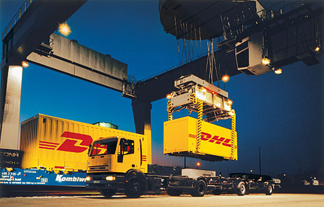 DHL Heavy Industries, Dhl, Middle east, Africa