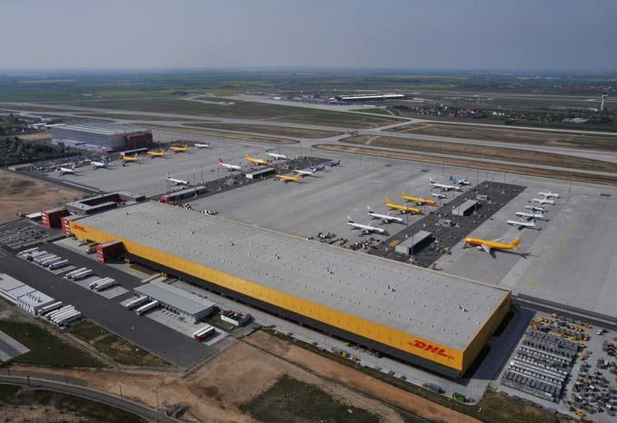 DHL's new $300m Leipzig super hub