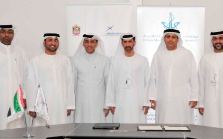 DMCA officials have met with representatives of the Dubai Shipping Agents Association.