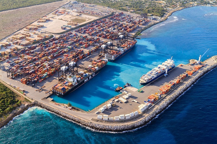 DP World is expanding its container terminal at Port of Caucedo following the expansion of the Panama Canal to accommodate larger container ships.