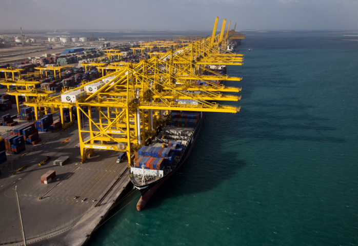 In the United Arab Emirates the group handled 3.6 million TEU, down 5.9 percent from a year earlier.