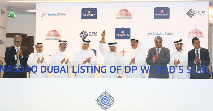 The listing by DP World reinforces Dubai's status as the global leader for Islamic bond listings, with a total nominal value of 44.56 billion US dollars.