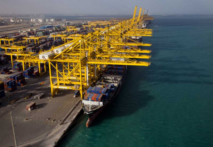 Accident, Crane, Dp world, NEWS, Ports & Free Zones