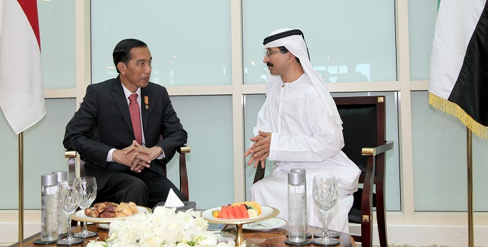 President Joko Widodo of Indonesia has visited DP World's flagship Jebel Ali Port where he was received by chairman Sultan Ahmed Bin Sulayem.