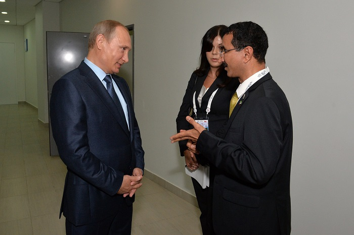 Russian President Vladimir Putin and DP World chairman Sultan Bin Sulayem hold talks on sidelines of Eastern Economic Forum (EEF) in Vladivostok.
