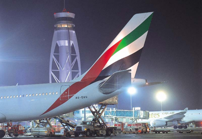 March's cargo figures reflect a stronger performance from the Middle East in comparison to the rest of the world.