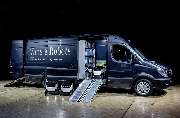 The Vision Van is expected to increase the productivity of last-mile deliveries by 50 percent.