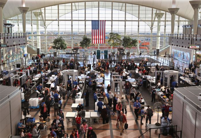 Denver is the largest airport in the US by land area (John Moore/Getty Images).