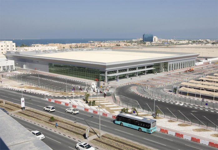 A view of the new terminal in Doha.
