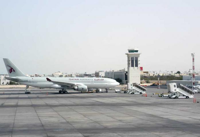 Qatar Airways' hub at Doha International Airport.