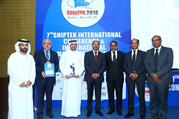 "Drydocks World received the ""Best Repair Yard"" Award at the 7th ShipTek International Maritime Awards"