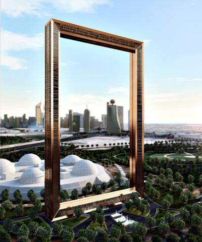 Dubai Frame.