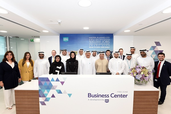 The new Business Centre was opened by Khalifa Al Zaffin, executive chairman, Dubai Aviation City Corporation and Dubai South.