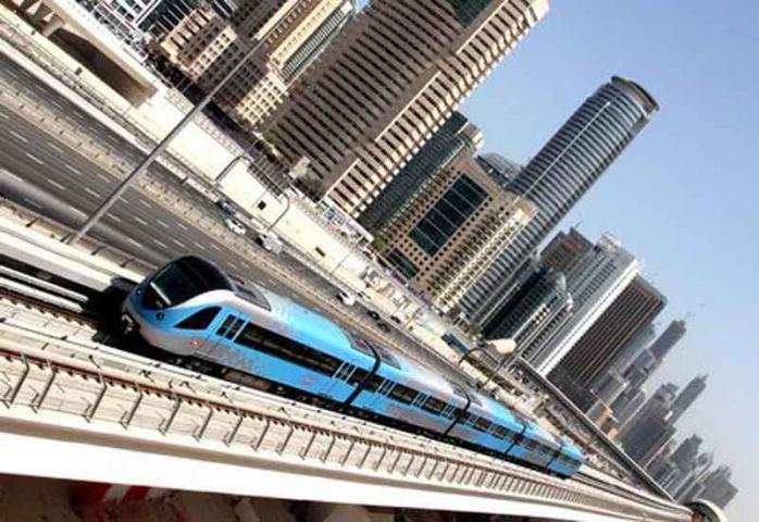 Dubai metro, Rail, Uae, Dubai