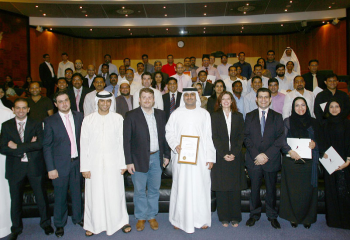 Graduating students from Certified Trade & Logistics Professional (CTLP) Programme, conducted in partnership with CILT.