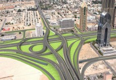 Three new roundabouts will be constructed at intersection points.