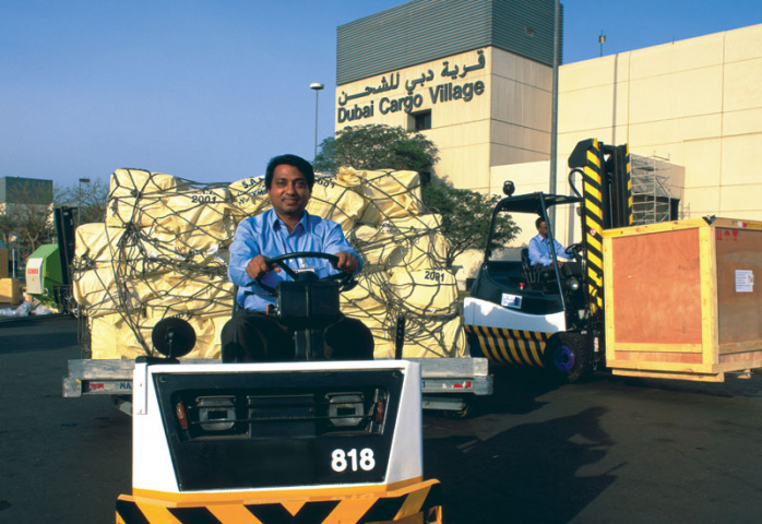 Dubai cargo village, NEWS