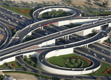 A second main road between Abu Dhabi and Dubai is in the works.